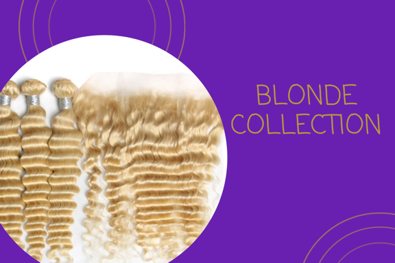 Raw Blonde Bundles - CrownedQueenHair