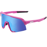 S3 - Matte Pink - HiPER Blue Multilayer Mirror Lens