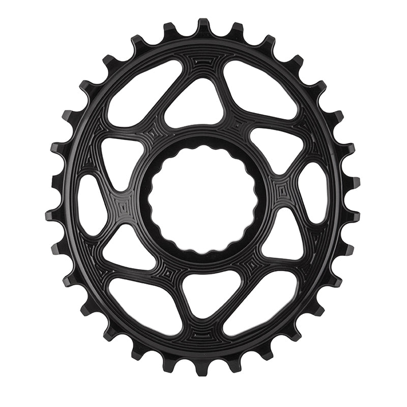CHAINRING ABSOLUTE BLACK OVAL DIRECT RF-CINCH