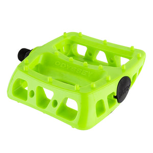 PEDALS ODY MX TWISTED PC 9/16 FLO-YL