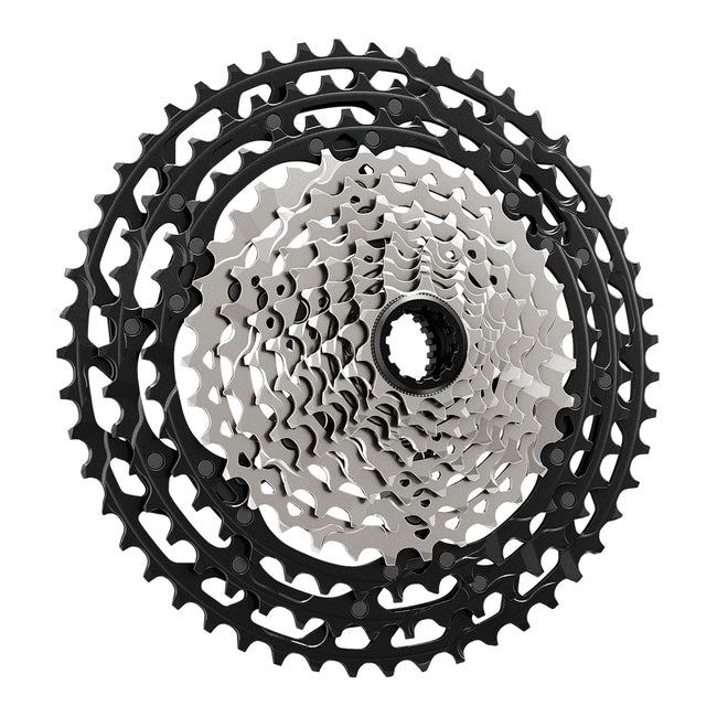 CASSETTE SPROCKET, CS-M9100-12, XTR, 10-51T, 12-SPD (HYPERGLIDE+),10-12-14-16-18-21-24-28-33-39-45-51T, W/SPACER