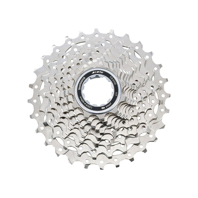 CASSETTE SPROCKET, CS-5700, 105 10-SPEED 11-12-13-14-15-17-19-21-24-28T 1MM SPACER INCLUDED