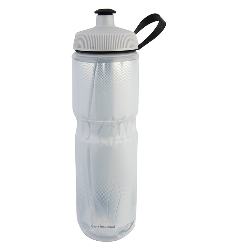 BOTTLE POLAR SPORT INSULATED 24oz FADE WH/SL