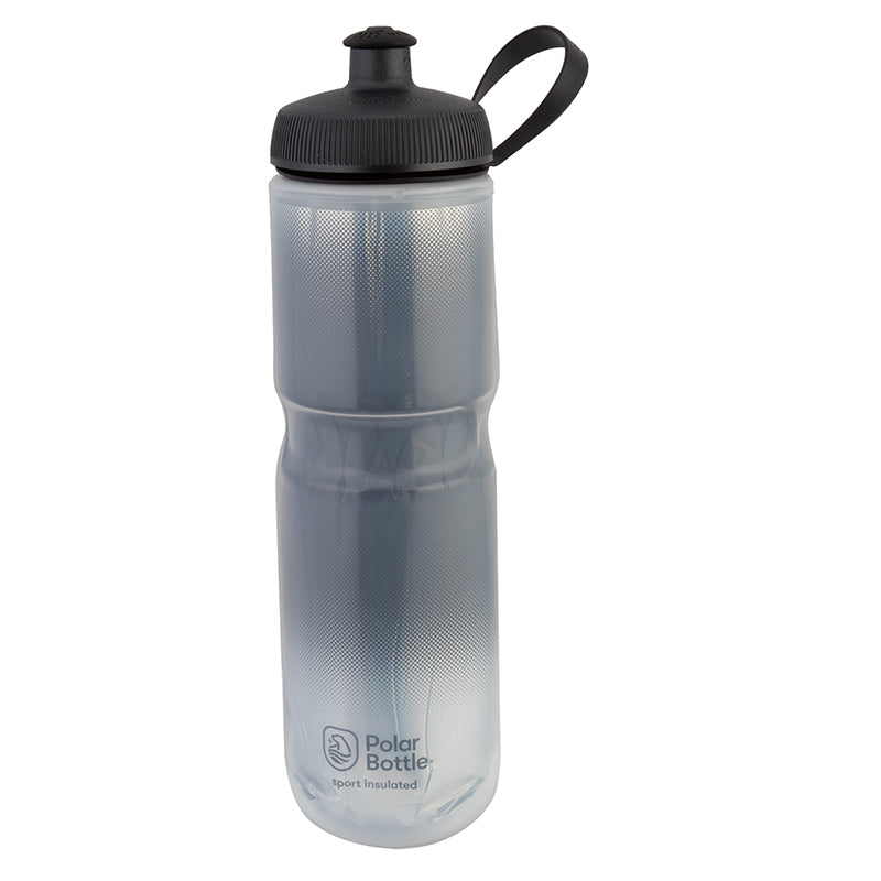 BOTTLE POLAR SPORT INSULATED 24oz FADE CHARCOAL/SL