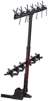 "Yakima Hangover Hitch Bike Rack - 6-Bike, 2"" Receiver, Black"