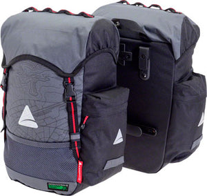 Axiom Seymour Oceanweave P35+ Panniers: Gray/Black