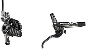 Shimano XTR BL-M9020/BR-M9020 Disc Brake and Lever - Rear, Hydraulic, Post Mount, Finned Metal Pads, Black