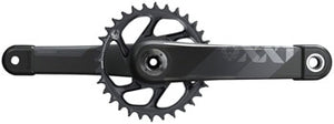 SRAM XX1 Eagle AXS Boost Crankset - 175mm, 12-Speed, 34t, Direct Mount, DUB Spindle Interface, Gray