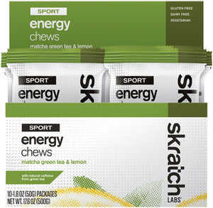 Home  Nutritionals  Chew  EB0484 Skratch Labs Sport Energy Chews: Matcha Green Tea and Lemon