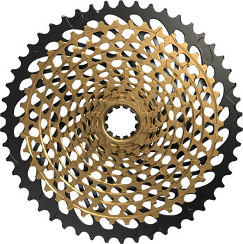 SRAM XX1 Eagle XG-1299 Cassette - 12 Speed, 10-50t, Gold/Black, For XD Driver Body