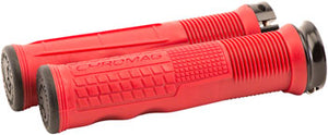 Chromag Format Grips - Red, Lock-On