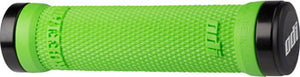 ODI Ruffian Grips - Lime Green, Lock-On