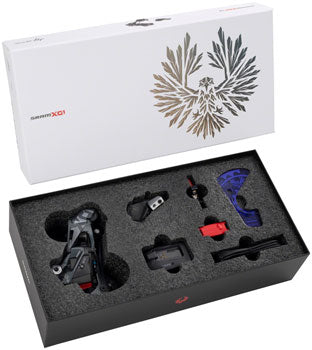 SRAM X01 Eagle AXS Upgrade Kit - Rear Derailleur, Battery, Eagle AXS Controller w/ Clamp, Charger/Cord