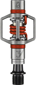 "Crank Brothers Egg Beater 3 Pedals - Dual Sided Clipless, Wire, 9/16"", Red"
