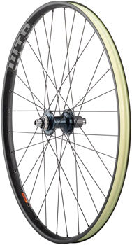 "Quality Wheels SLX/WTB ST Light i29 Rear Wheel - 29"", 12 x 148mm, Center-Lock, Micro Spline, Black"