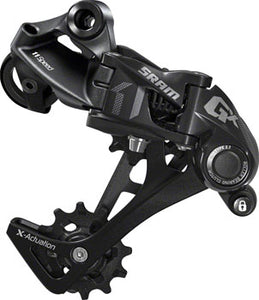 SRAM GX Rear Derailleur - 11 Speed, Long Cage, Black, 1x, With Clutch