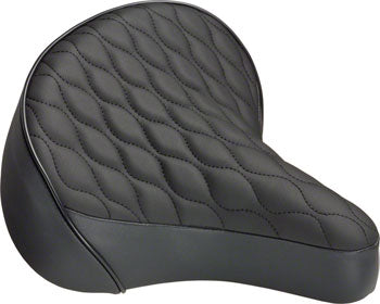 Dimension Cruiser Saddle - Steel, Black