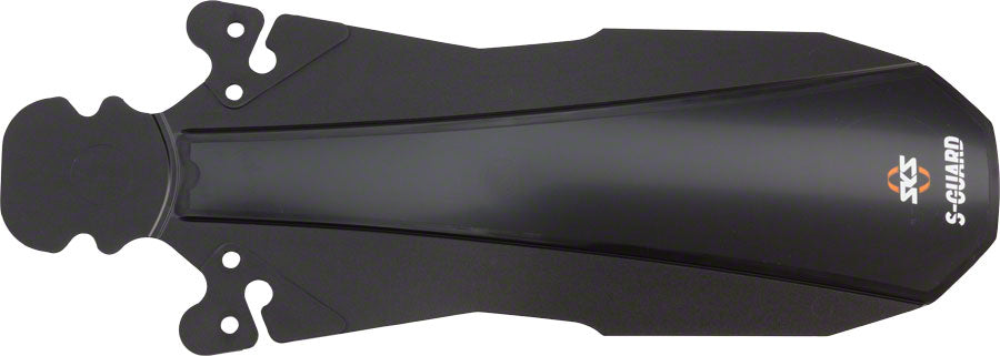 FENDERS SKS REAR S-GUARD UNDERSEAT BK