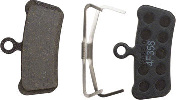 SRAM Disc Brake Pads - Organic Compound, Aluminum Backed, Quiet/Light, For Trail, Guide, and G2
