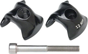 Ritchey WCS Carbon 1-Bolt Seatpost Clamp 8x8.5mm Rails, Black