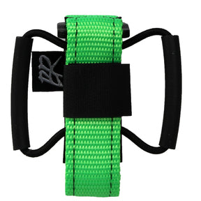 Backcountry Research Camrat Strap Tube Saddle Mount - Hot Lime