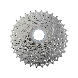 CASSETTE SPROCKET, CS-HG50 8-S,NI-PLATED, 11-13-15-18-21-24-28-34T