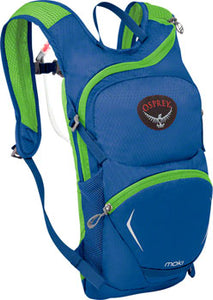 Osprey Moki 1.5 Kids Hydration Pack: Wild Blue, One Size