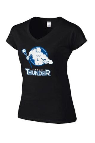 Women's Team Logo V-Neck