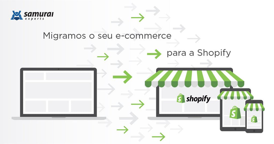 Migramos o seu e-commerce para a Shopify