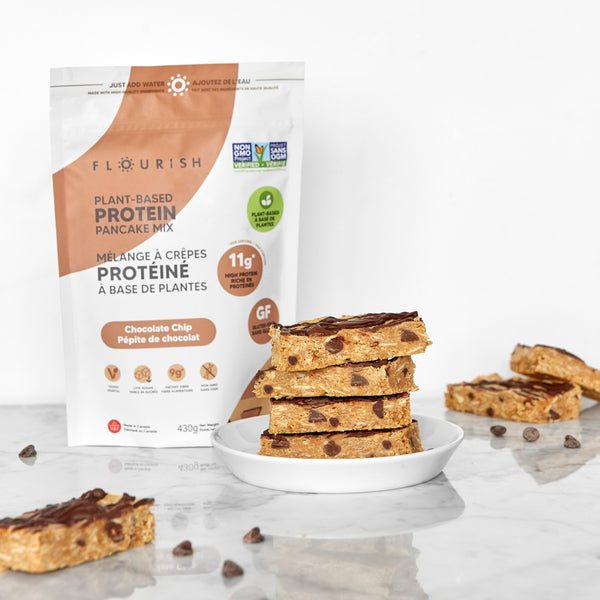 Vegan Chocolate Chip Protein Bars