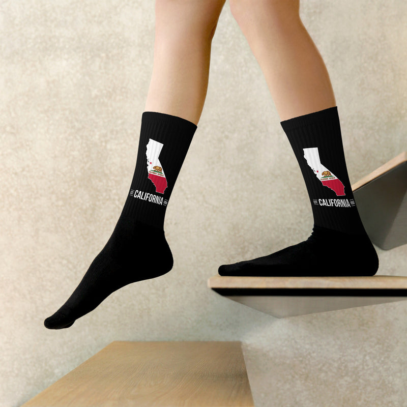 Socks - California State Flag