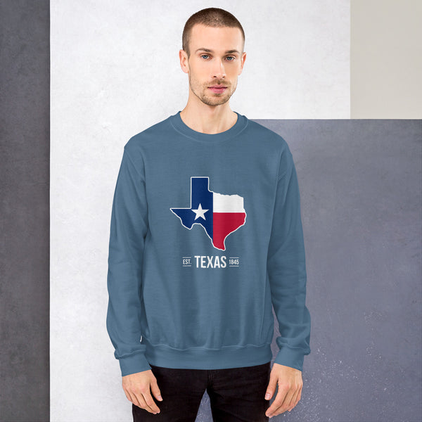 Unisex Texas Flag Sweatshirt