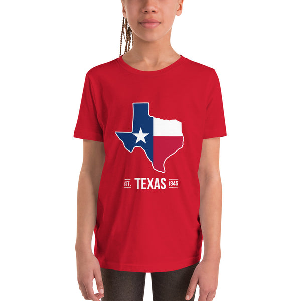 Youth Short Sleeve Texas Flag T-Shirt