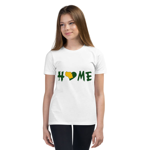 Girl's T-Shirt - Wisconsin - Home