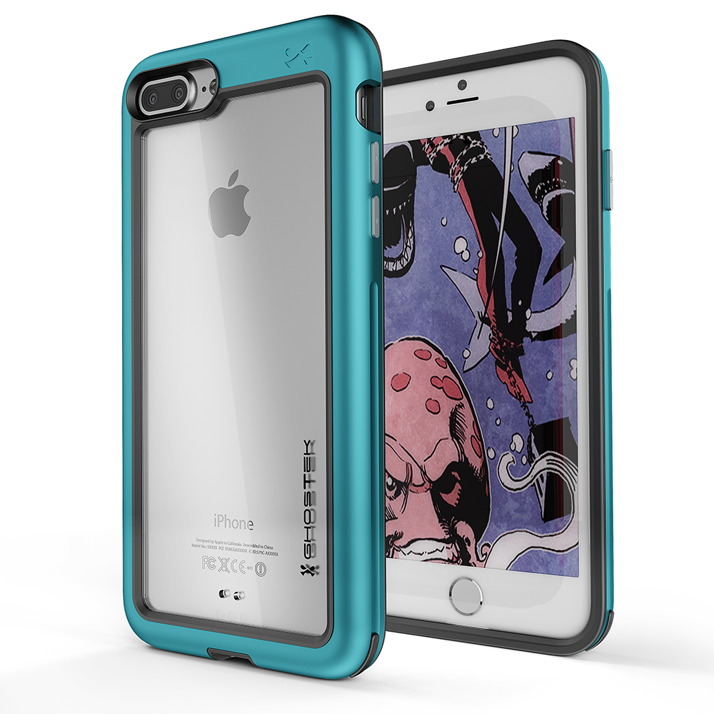 iPhone 8+ Plus Case, Ghostek®  Atomic Slim Series  for iPhone 8+ Plus Rugged Heavy Duty Case[TEAL]