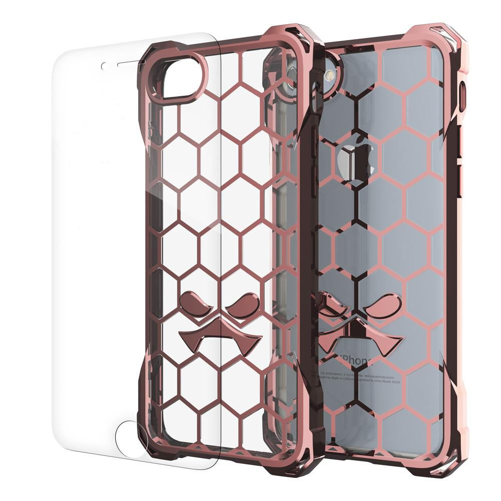 iPhone 7+ Plus Case, Ghostek® Covert Rose Pink, Premium Impact Protective Armor | Warranty - PunkCase NZ