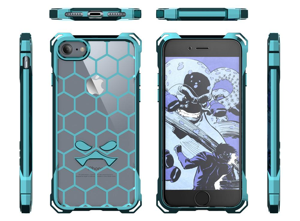 iPhone 7 Case, Ghostek® Covert Teal, Premium Impact Protective Armor | Lifetime Warranty Exchange - PunkCase NZ