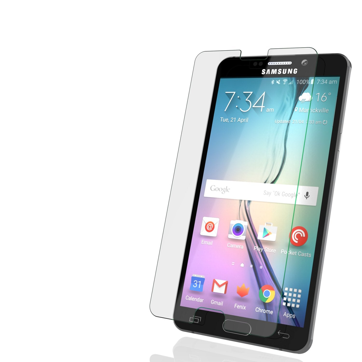 Galaxy Note 5 Punkcase Glass SHIELD Tempered Glass Screen Protector 0.33mm Thick 9H Glass Screen - PunkCase NZ