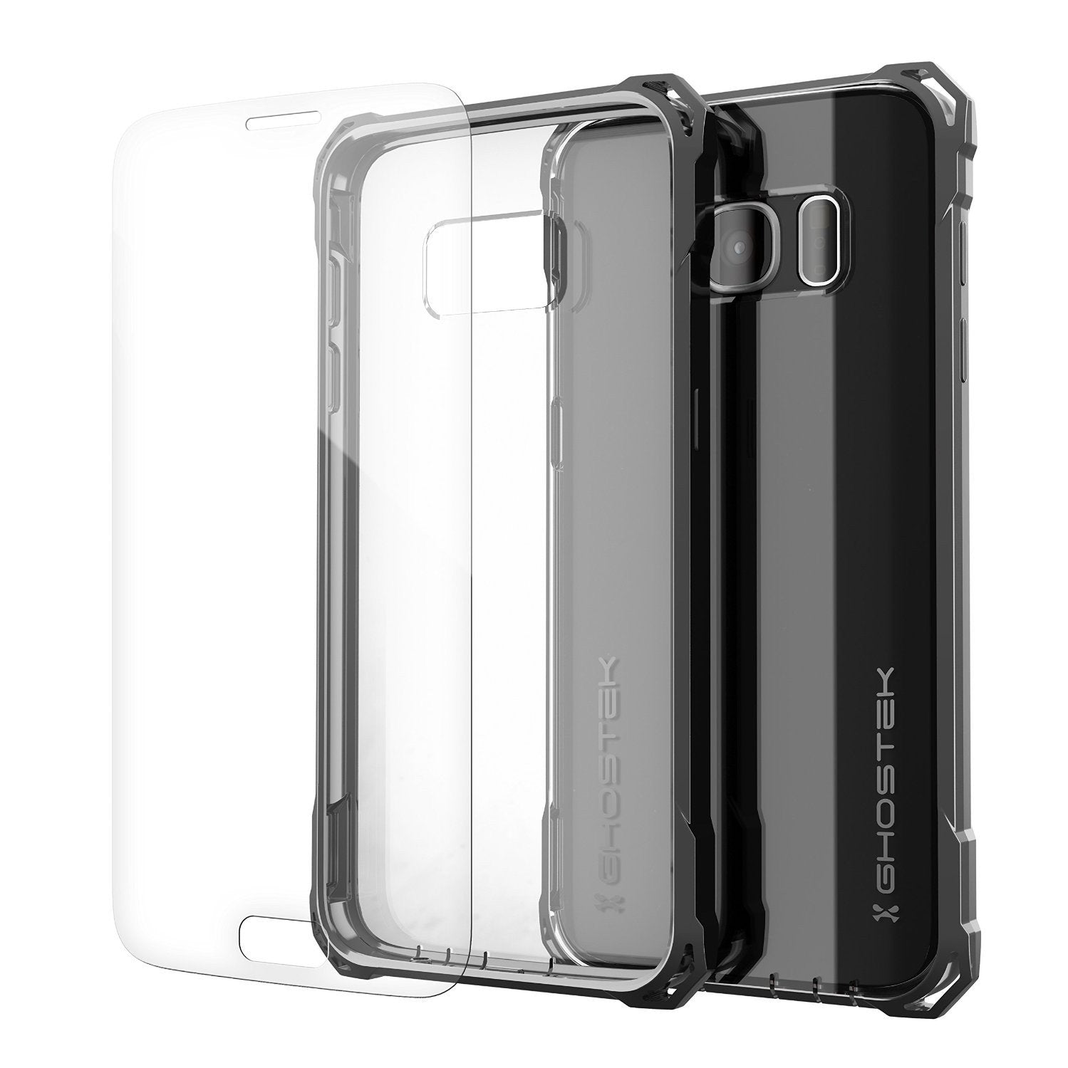 Galaxy S7 Case, Ghostek® Covert Dark Grey Series Premium Impact Cover | Lifetime Warranty Exchange - PunkCase NZ
