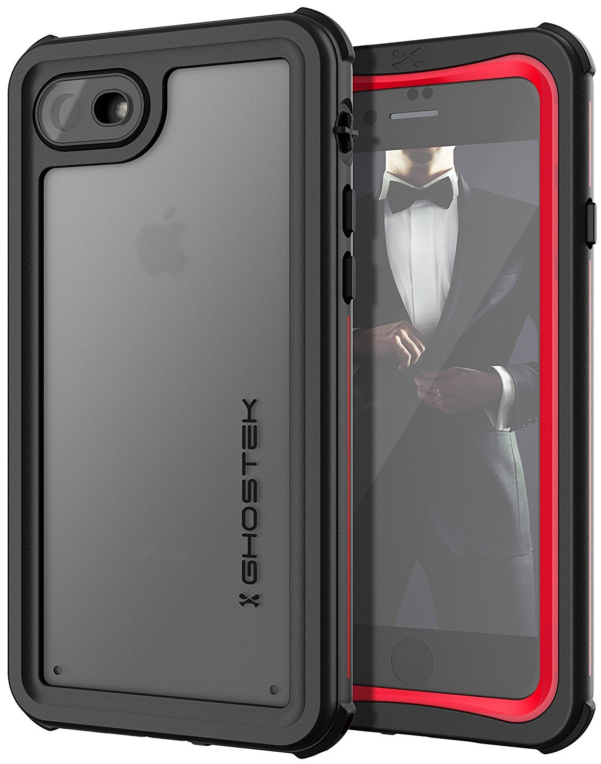 iPhone 8/7 Case, Ghostek Nautical Series  for iPhone 8/7 Case | RED - PunkCase NZ
