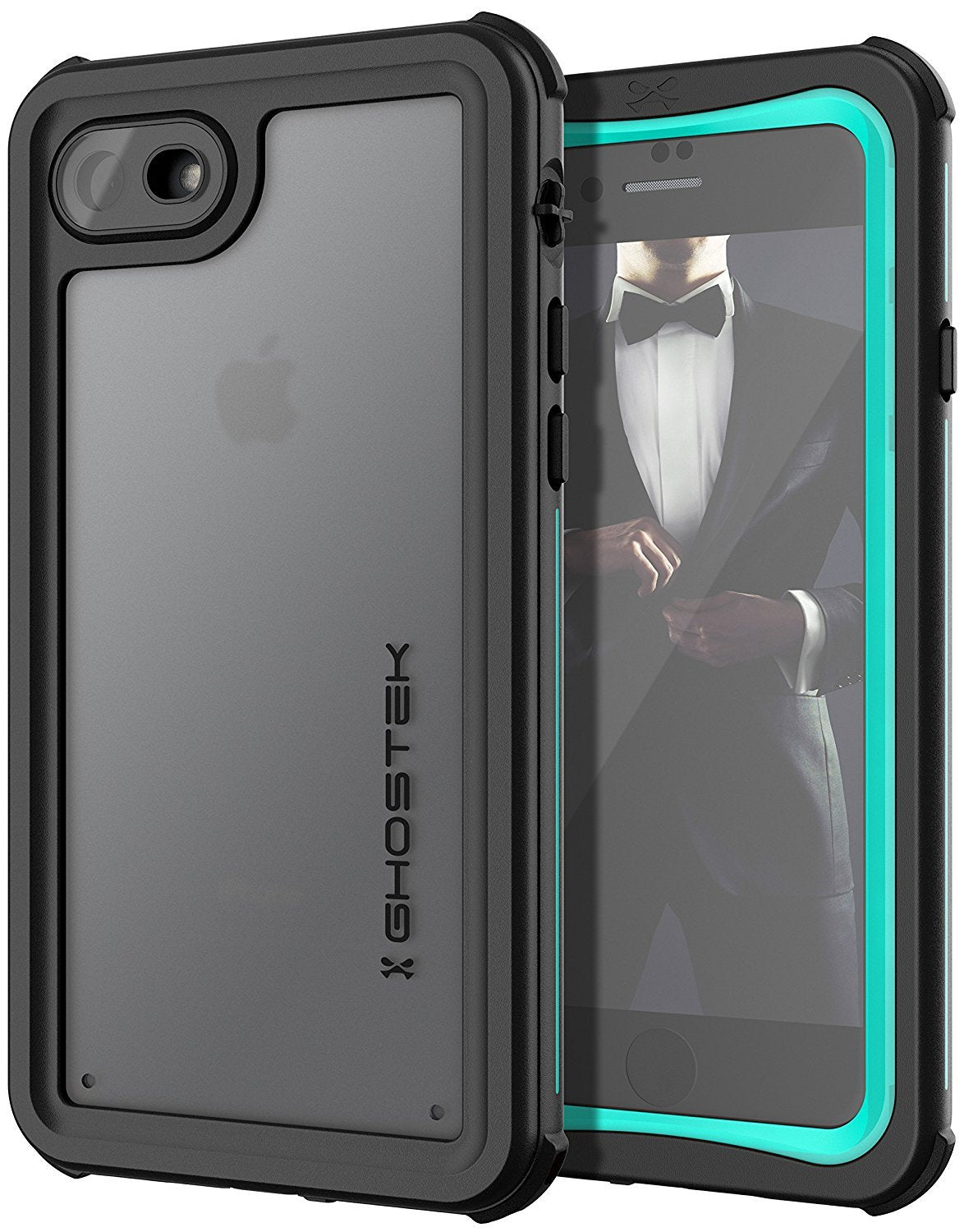 iPhone 8/7 Case, Ghostek Nautical Series  for iPhone 8/7 Case | TEAL - PunkCase NZ