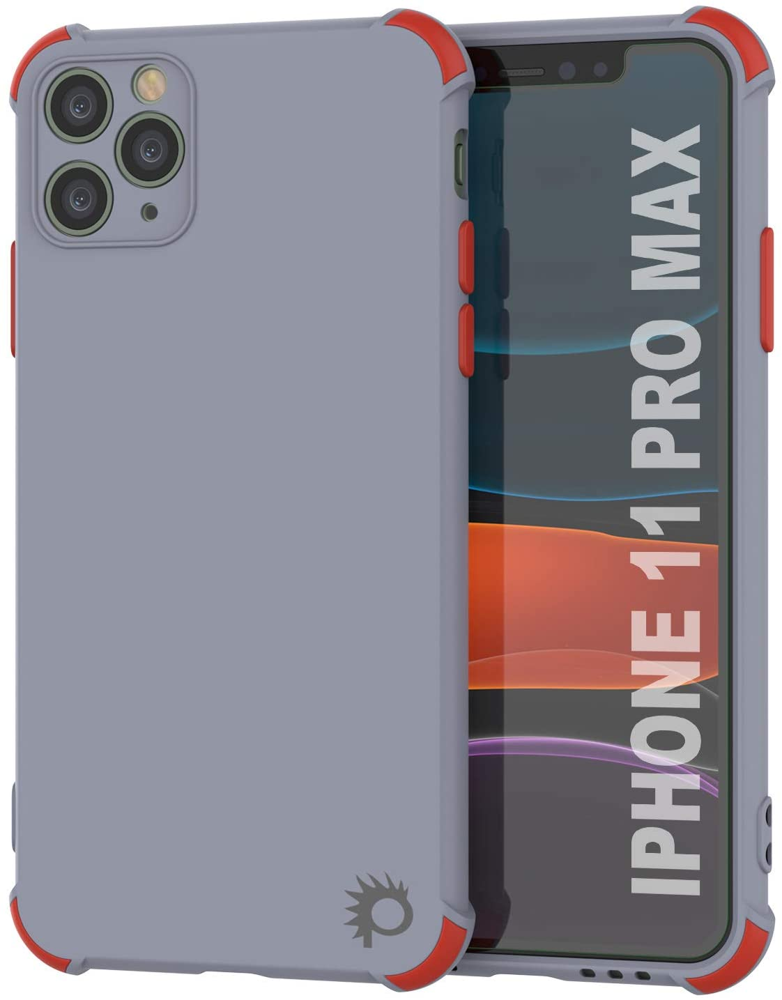 Punkcase Protective & Lightweight TPU Case [Sunshine Series] for iPhone 11 Pro Max [Grey]