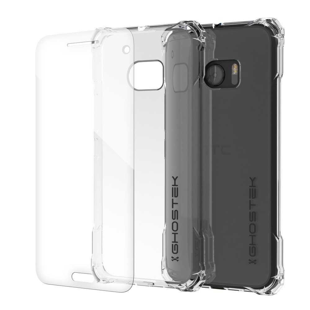 HTC 10 Case, Ghostek® Covert Clear Series Premium Slim Hybrid | w/Screen Protector | Ultra Fit