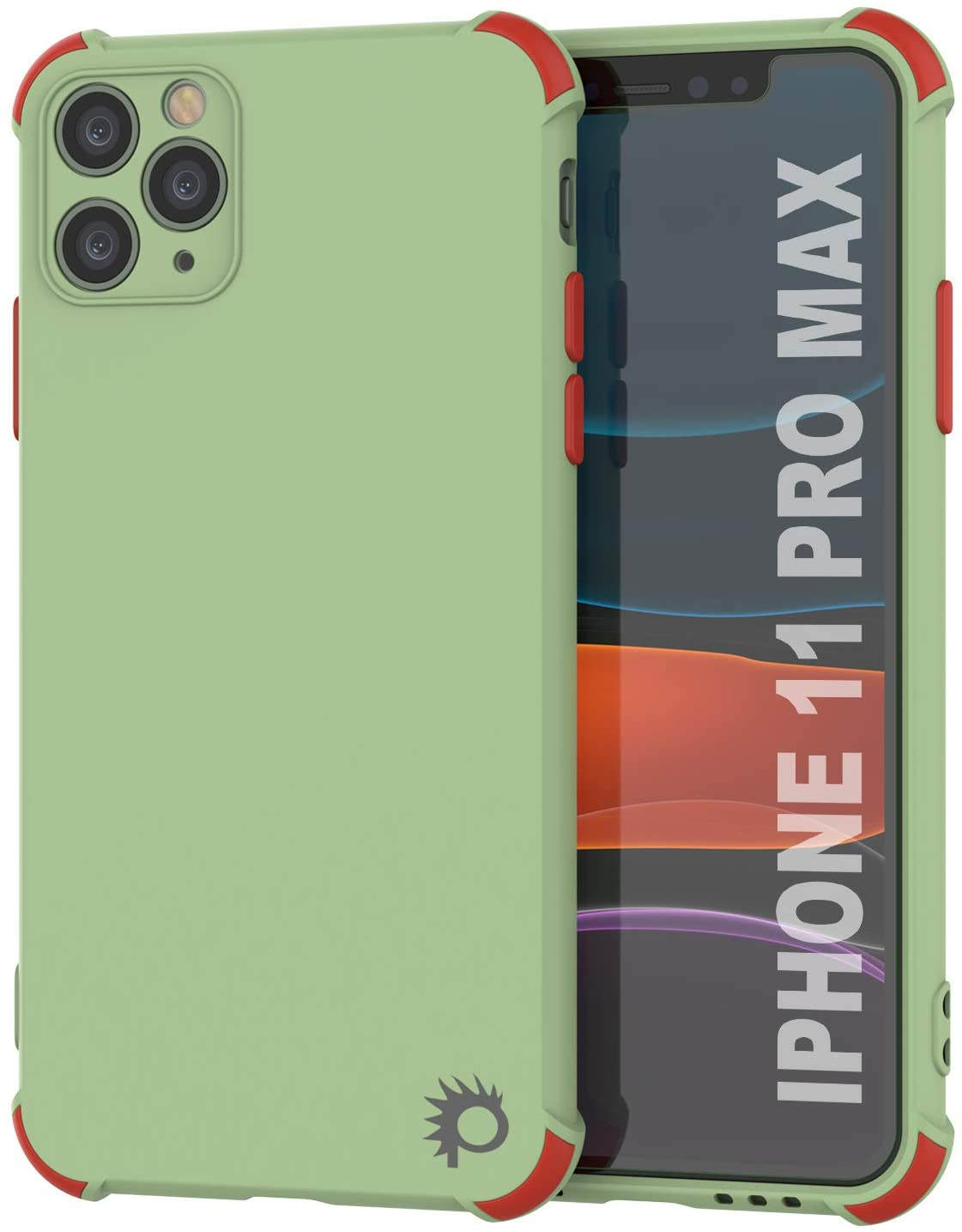 Punkcase Protective & Lightweight TPU Case [Sunshine Series] for iPhone 11 Pro Max [Light Green]