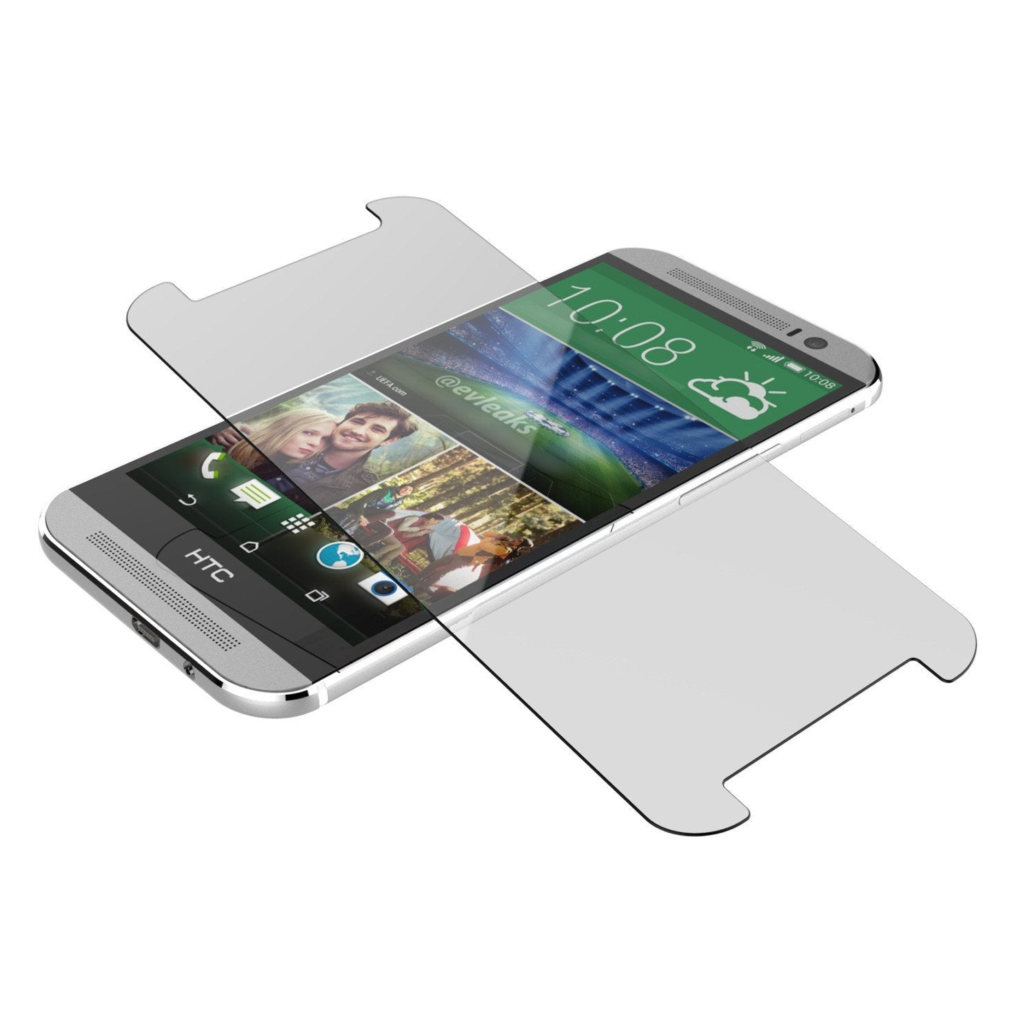 M8 Tempered Glass Screen Protector, Punkcase SHIELD for HTC One M8 0.33mm Thick 9H - PunkCase NZ