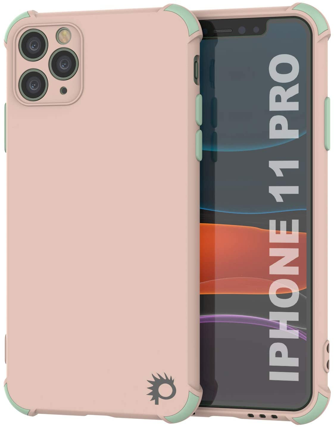 Punkcase Protective & Lightweight TPU Case [Sunshine Series] for iPhone 11 Pro [Pink]