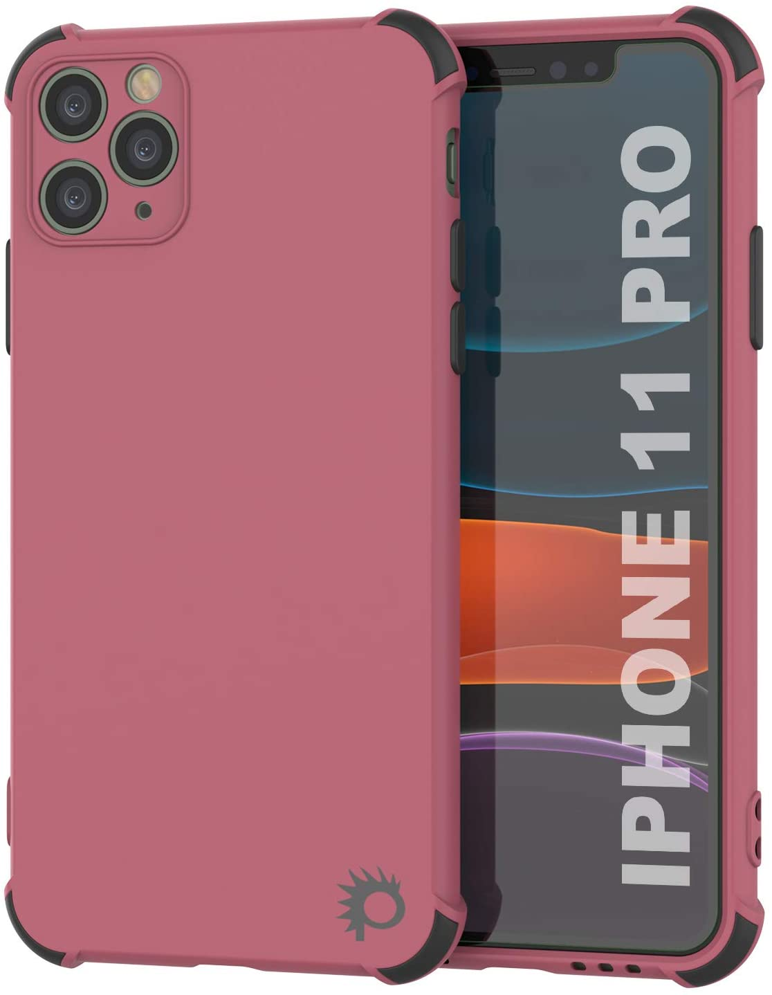 Punkcase Protective & Lightweight TPU Case [Sunshine Series] for iPhone 11 Pro [Rose]