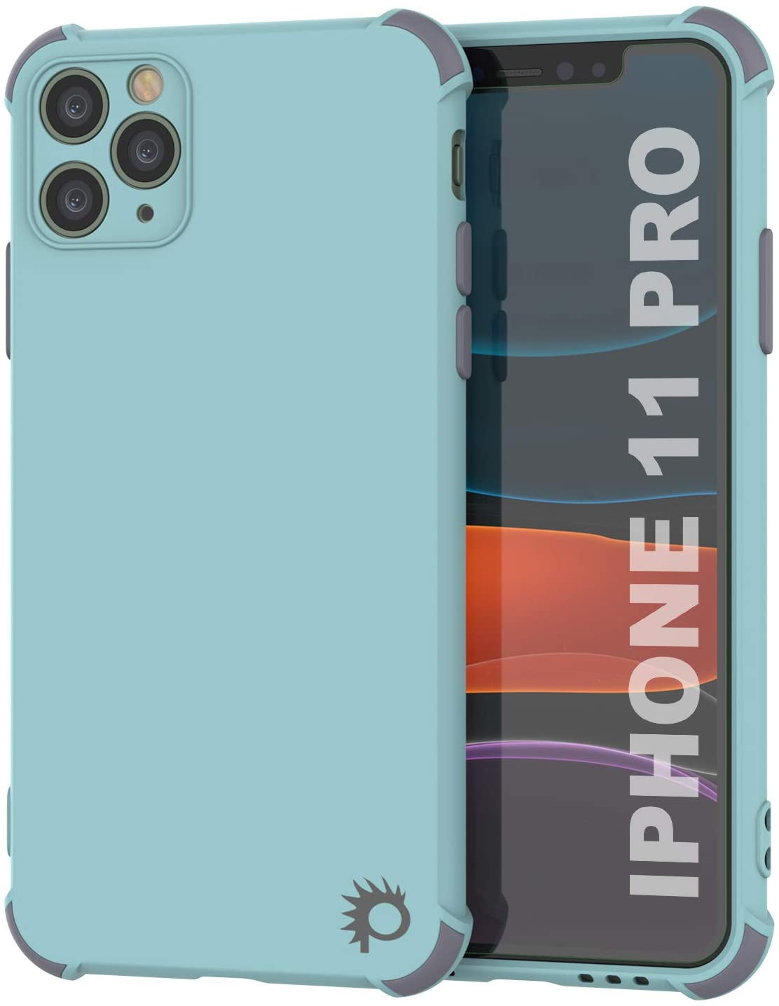 Punkcase Protective & Lightweight TPU Case [Sunshine Series] for iPhone 11 Pro [Teal]