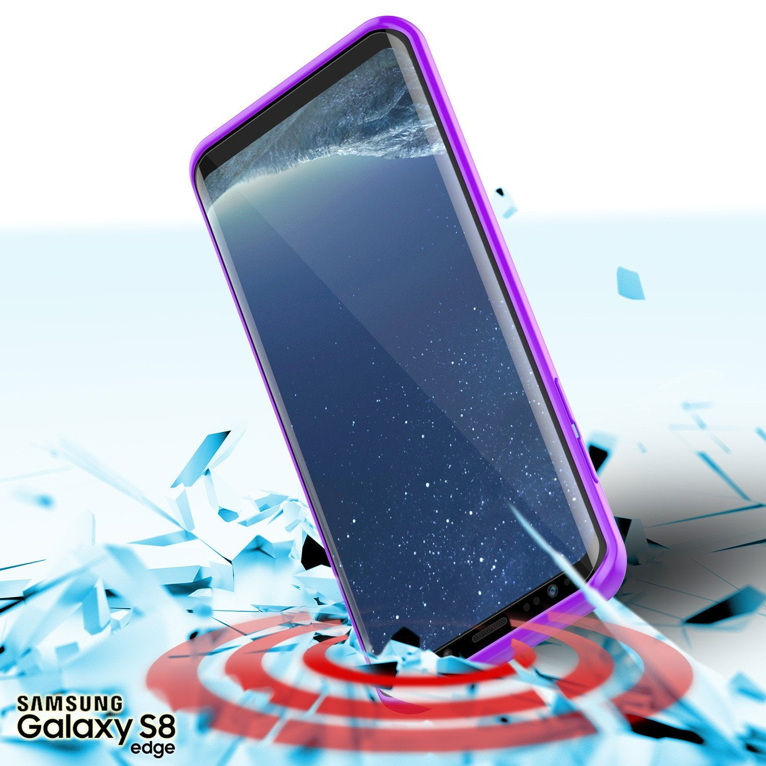 S8 Case Punkcase® LUCID 2.0 Purple Series w/ PUNK SHIELD Screen Protector | Ultra Fit - PunkCase NZ