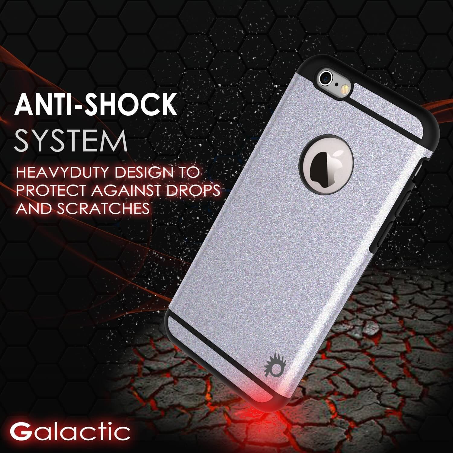 iPhone 5s/5/SE Case PunkCase Galactic SIlver Series Slim w/ Tempered Glass | Lifetime Warranty - PunkCase NZ